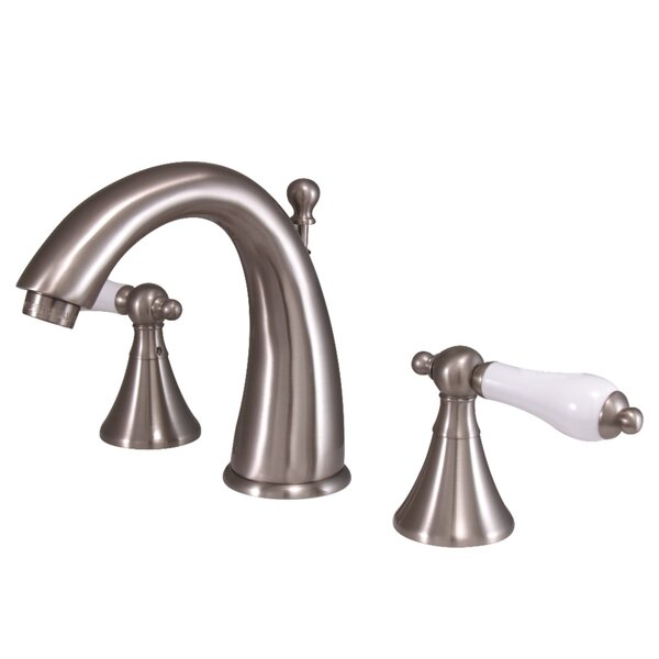 St. Regis Widespread Bathroom Faucet with Drain Assembly