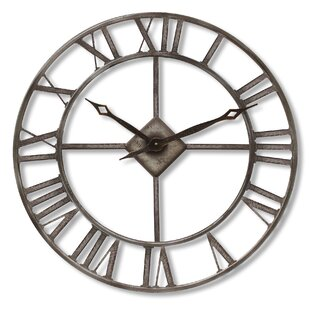 Beau Isoline Oversized Rustic 76cm Wall Clock