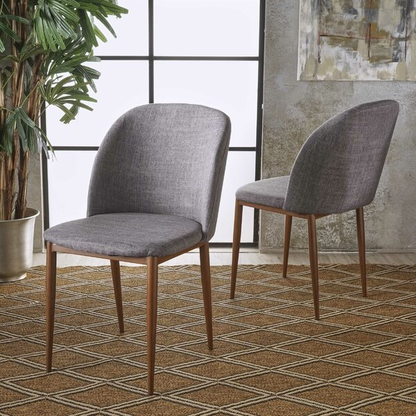 Dinsmore Upholstered Dining Chair (Set Of 2) By Ivy Bronx