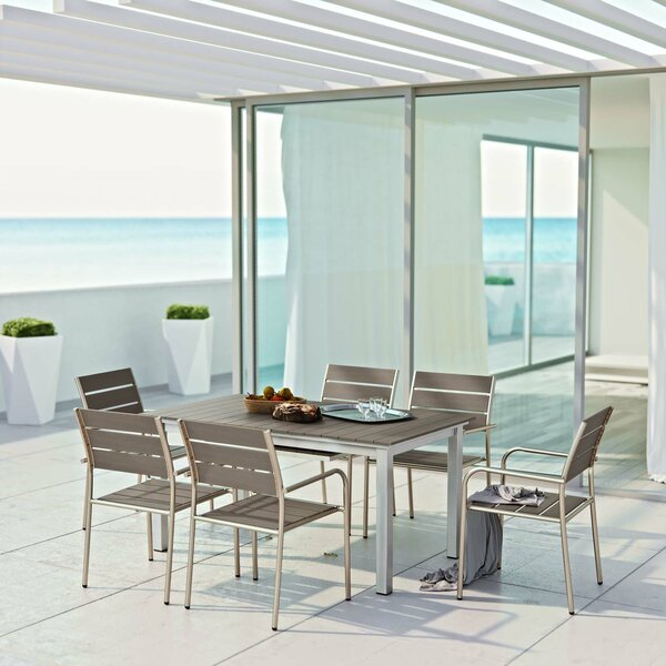 Coline 7 Piece Outdoor Dining Set by Orren Ellis