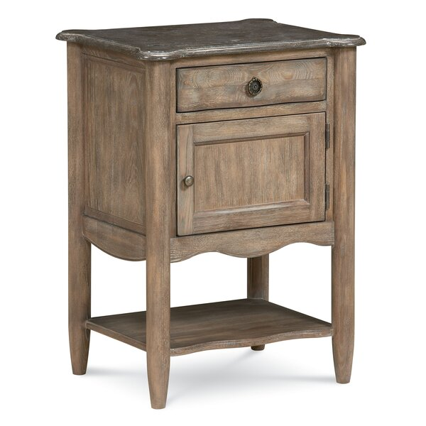 Morrisville 1 Drawer Nightstand by August Grove August Grove