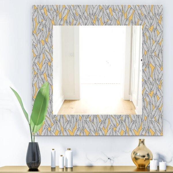 Leaves Traditional Bathroom/Vanity Mirror