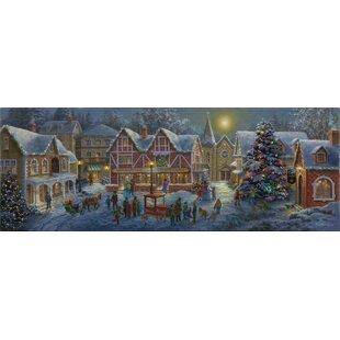 Christmas Village Panoramic Print