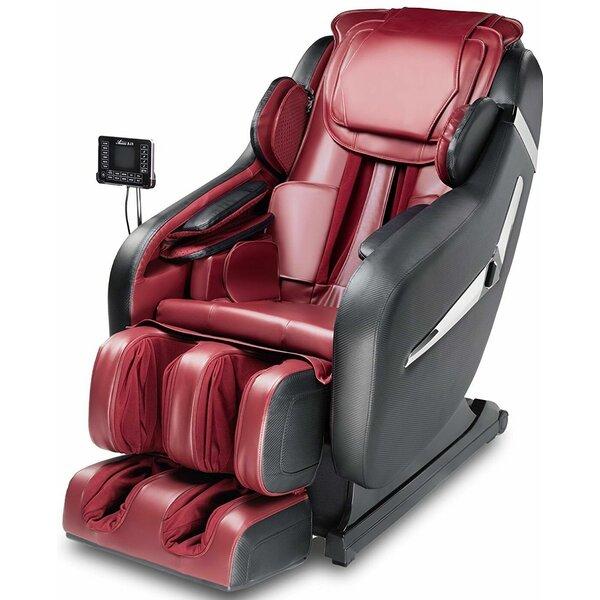 Zero-g 3d Reclining Adjustable Width Massage Chair By Ebern Designs