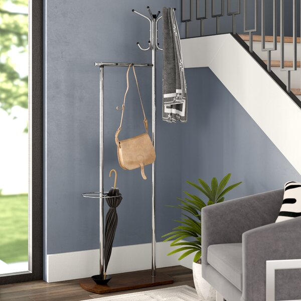 Jemuel Freestanding Coat Rack by Orren Ellis