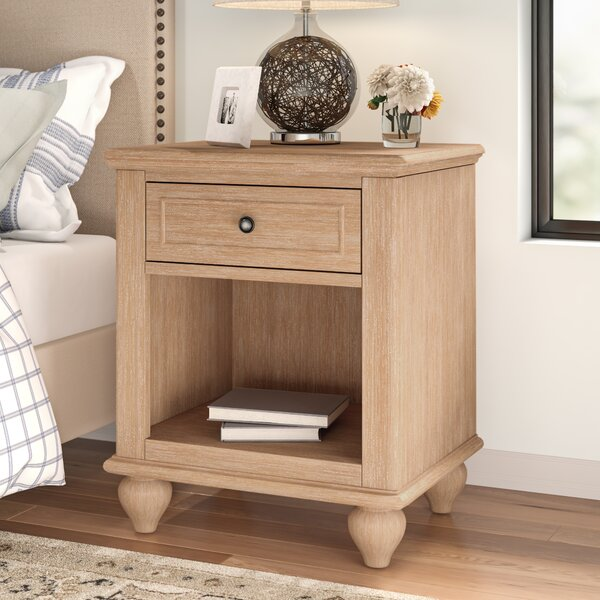 Romford 1 Drawer Nightstand by Three Posts
