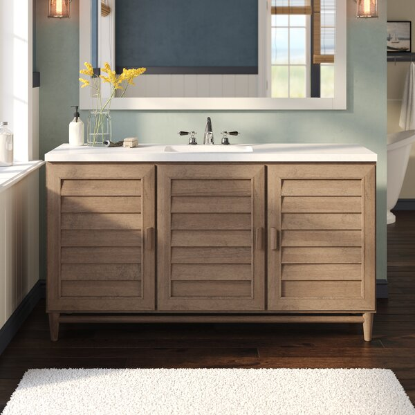 Neuhaus 60 Single Bathroom Vanity Set by Beachcrest Home