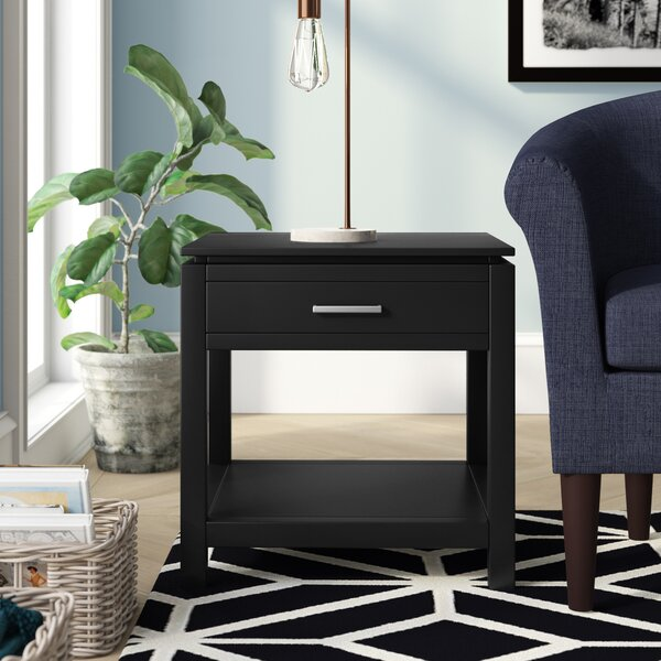 Mayhew End Table With Storage by Brayden Studio