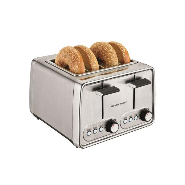 4 Slice Modern Toaster by Hamilton Beach