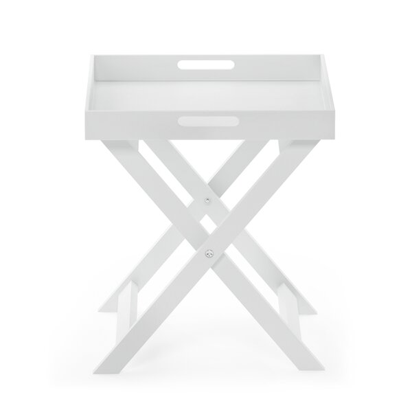 Paradis Folding Tray Table by Breakwater Bay