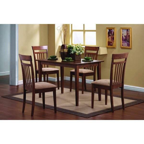 Stockport 5 Piece Dining Set by Canora Grey Canora Grey