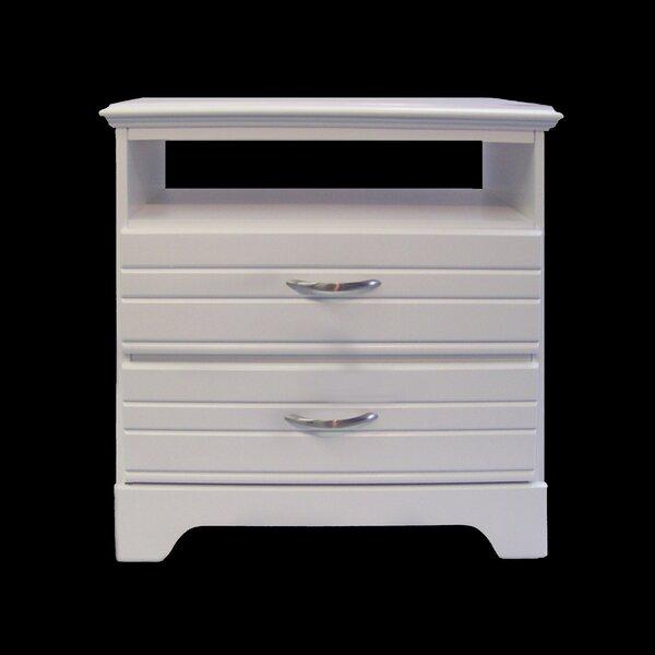 Della 2 Drawer Dresser by August Grove
