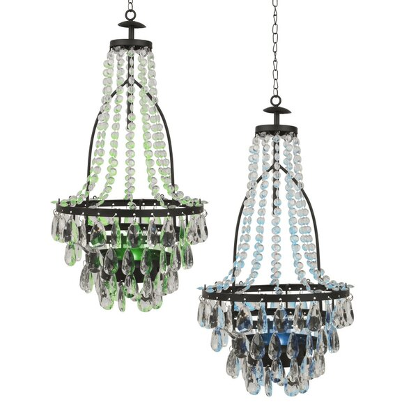 Baggs Solar 2-Light LED Empire Chandelier (Set of 2) by Bloomsbury Market