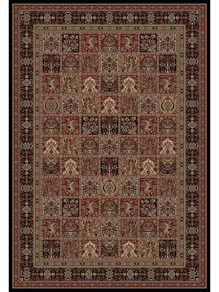 Persian Classics Oriental Panel Area Rug by The Conestoga Trading Co.