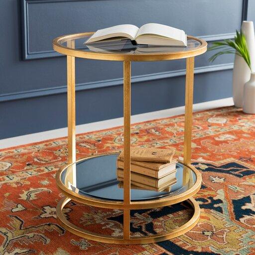 Everly Quinn Bridlington Ly Inspired End Table Wayfair