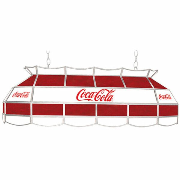 Coca Cola Vintage 3-Light Pool Table Light by Trademark Global