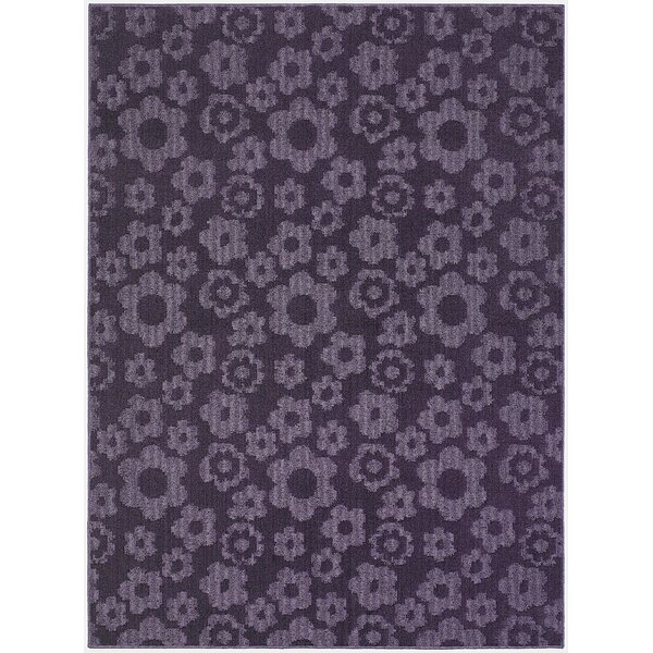 Suzanne Purple Indoor/Outdoor Area Rug by Threadbind