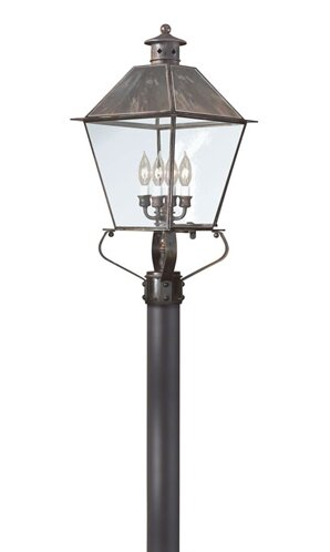 Theodore Contemporary 4-Light Metal Lantern Head by Darby Home Co
