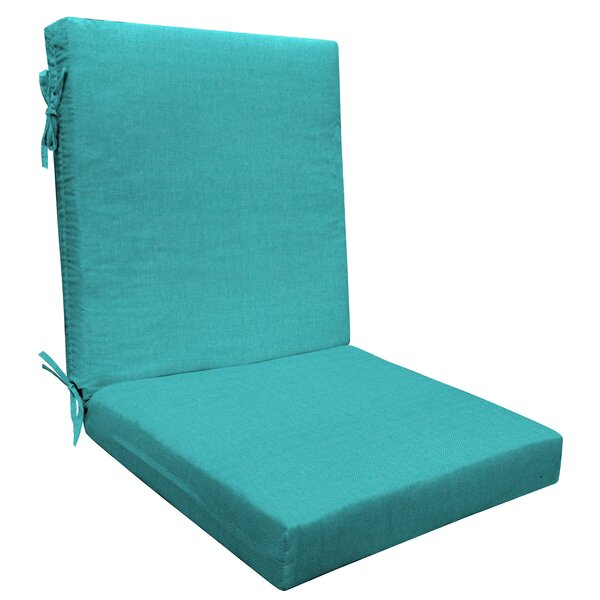 Highback Outdoor Dining Chair Cushion