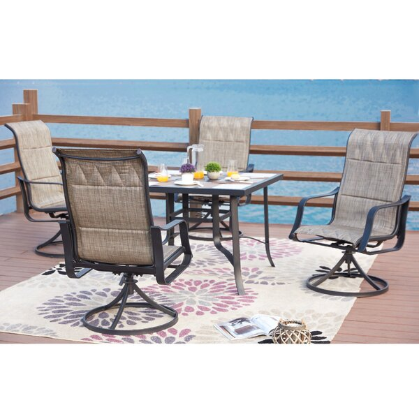 Swanville 5 Piece Dining Set By Charlton Home
