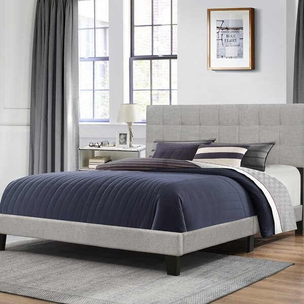 Decker Upholstered Panel Bed by Ebern Designs