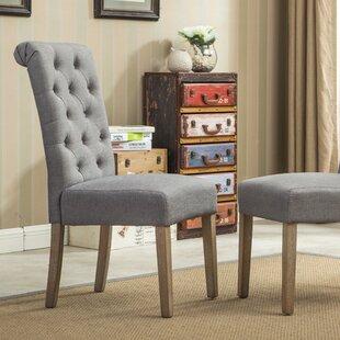 Tufted Gray Chair | Wayfair