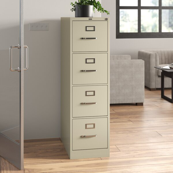 310 Series 4-Drawer Vertical Filing Cabinet