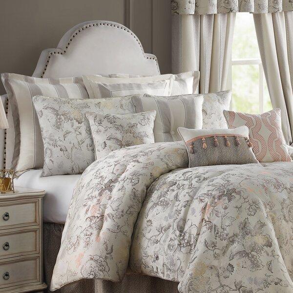 Aleah Floral Jacobean Comforter Set