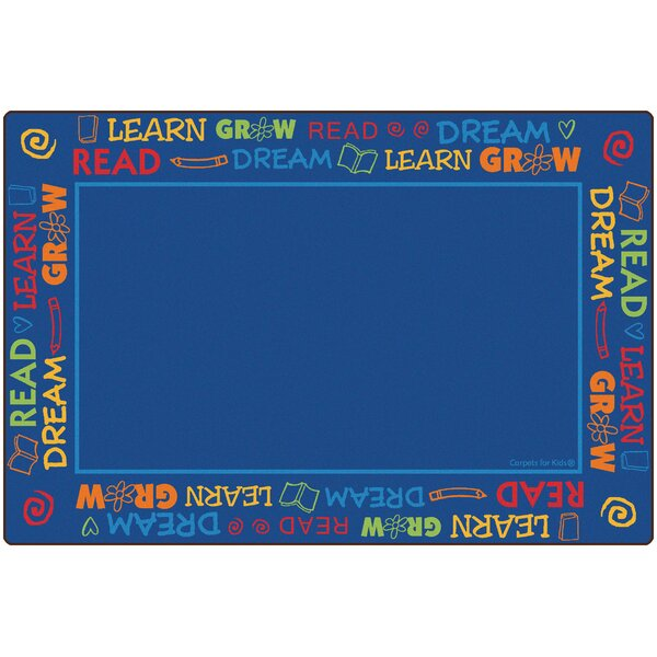 Read to Dream Border Kids Area Rug by Carpets for Kids