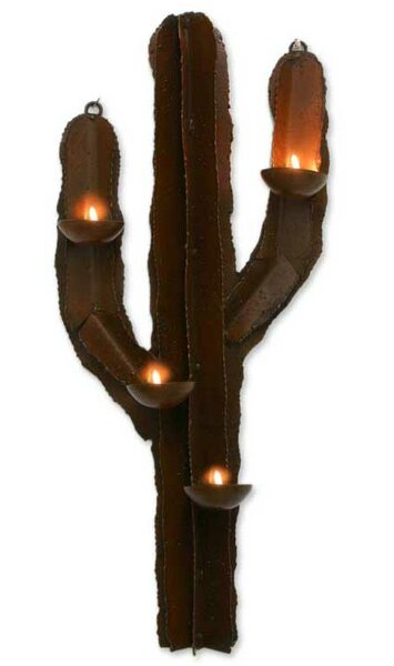 Marco Polo Iron Candleholder by Novica