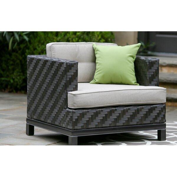 Yara Single Patio Chair with Cushion by Mistana