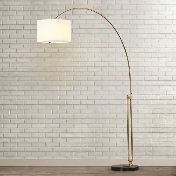 Phoebe 84 Arched Floor Lamp by Wade Logan