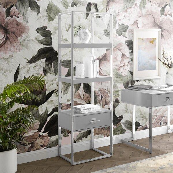 Plumeria Etagere Bookcase by Nicole Miller Nicole Miller