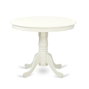 Best Reviews Woodward Dining Table by Three Posts