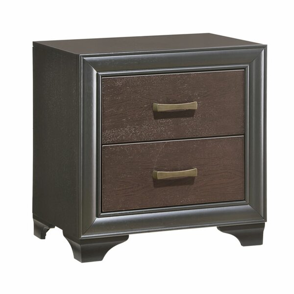 Gast 2 Drawer Nightstand by Latitude Run