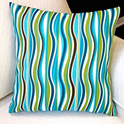 Outdoor Pillow Cover Modern Striped