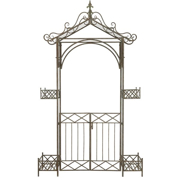 Destiny Iron Arbor with Gate by Safavieh