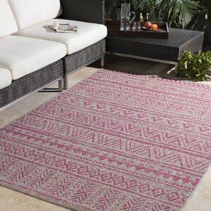 fonwhary global bright pinklight pink area rug