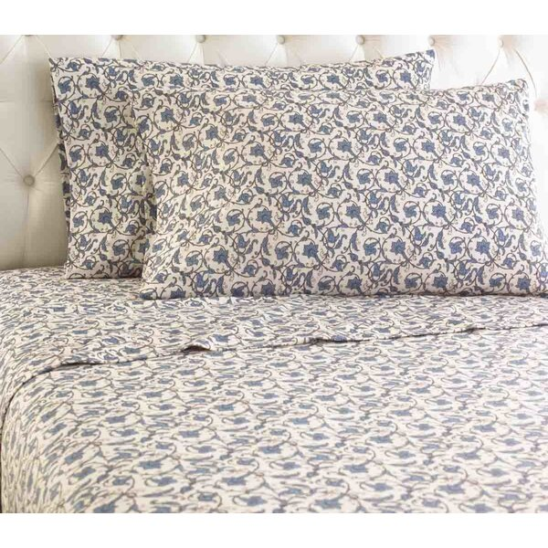 Yokota Flannel Sheet Set by Alcott Hill