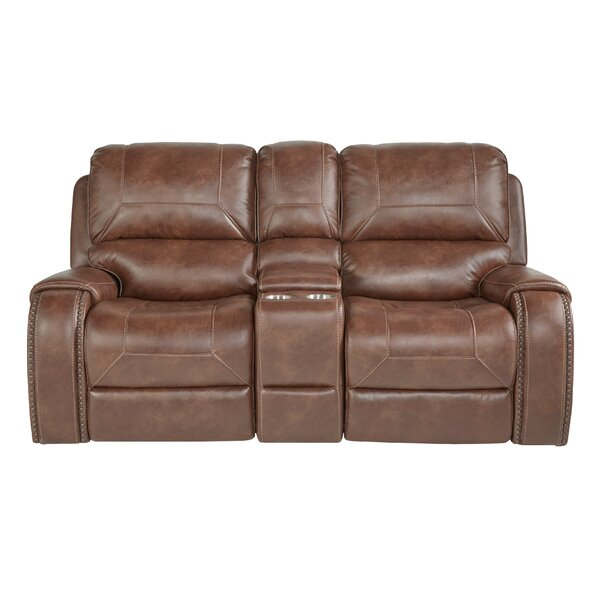 Buy Online Cheap Philo Reclining Loveseat by Loon Peak by Loon Peak