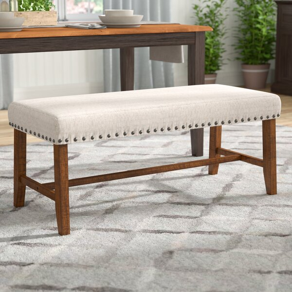 Montagnes Upholstered Bench by Laurel Foundry Modern Farmhouse Laurel Foundry Modern Farmhouse