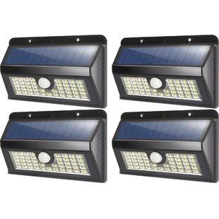 Solar Garden 45 Light LED Flood Light (Set of 4)
