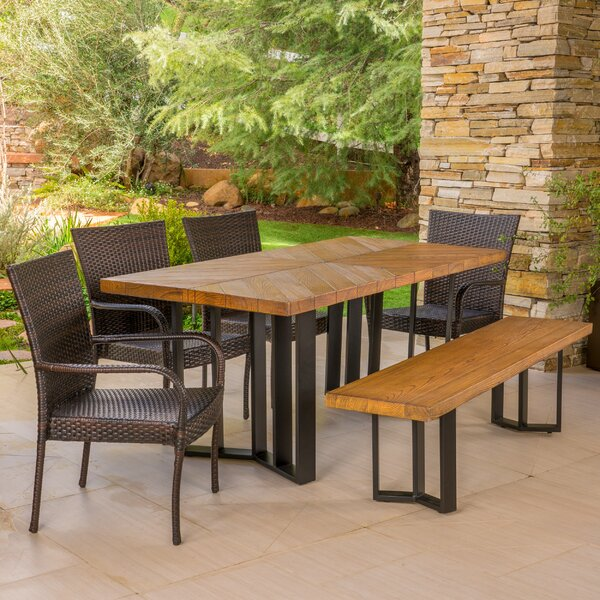 6 Piece Dining Set by Union Rustic