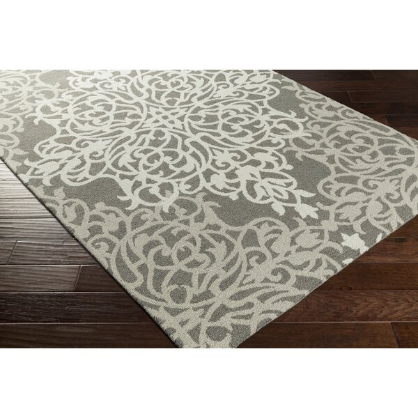 Kerner Hand-Tufted Beige/Gray Area Rug by Ophelia & Co.