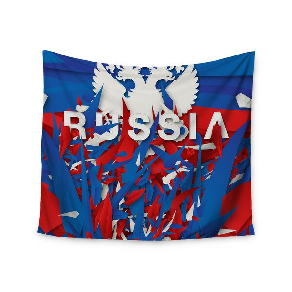 Russia by Danny Ivan Wall Tapestry by East Urban Home