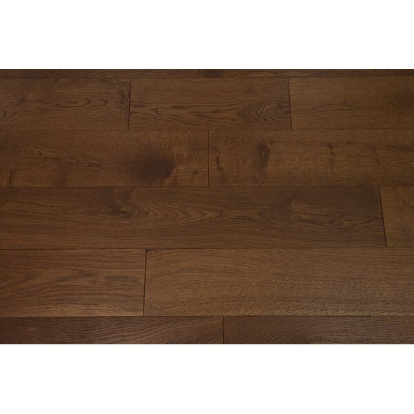 Everest 6 Engineered Oak Hardwood Flooring in Rust by Branton Flooring Collection