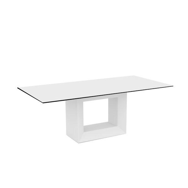 Vela Plastic/Resin Dining Table by Vondom