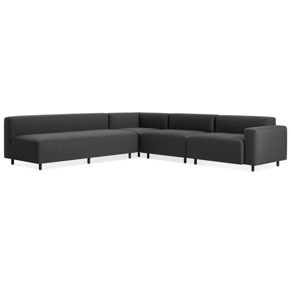 9 Yard Outdoor Right L Sectional Sofa by Blu Dot