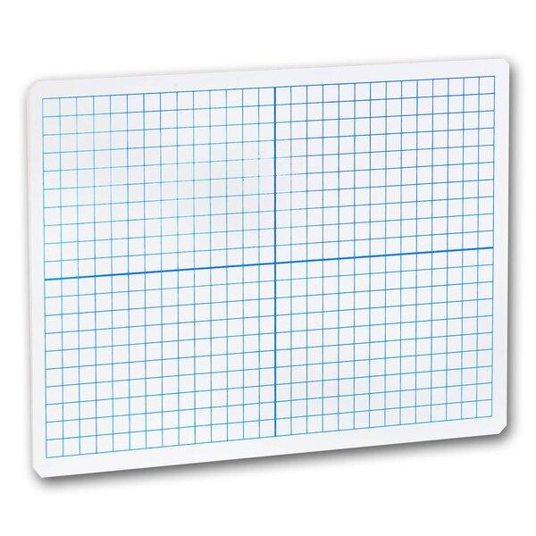 X-Y Axis Dry Erase Lap Board Whiteboard, 9 x 12 by Flipside
