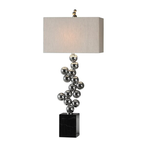 Metal Sphere Table Lamp Wayfair